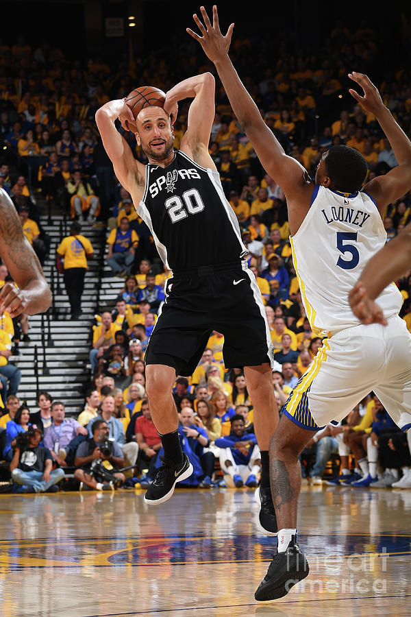San Antonio Spurs V Golden State Photograph by Andrew D. Bernstein
