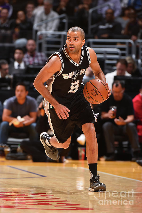 San Antonio Spurs V Los Angeles Lakers Photograph by Andrew D. Bernstein