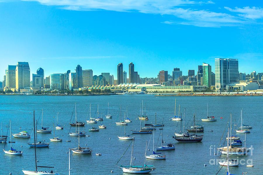 San Diego Bay by Benny Marty