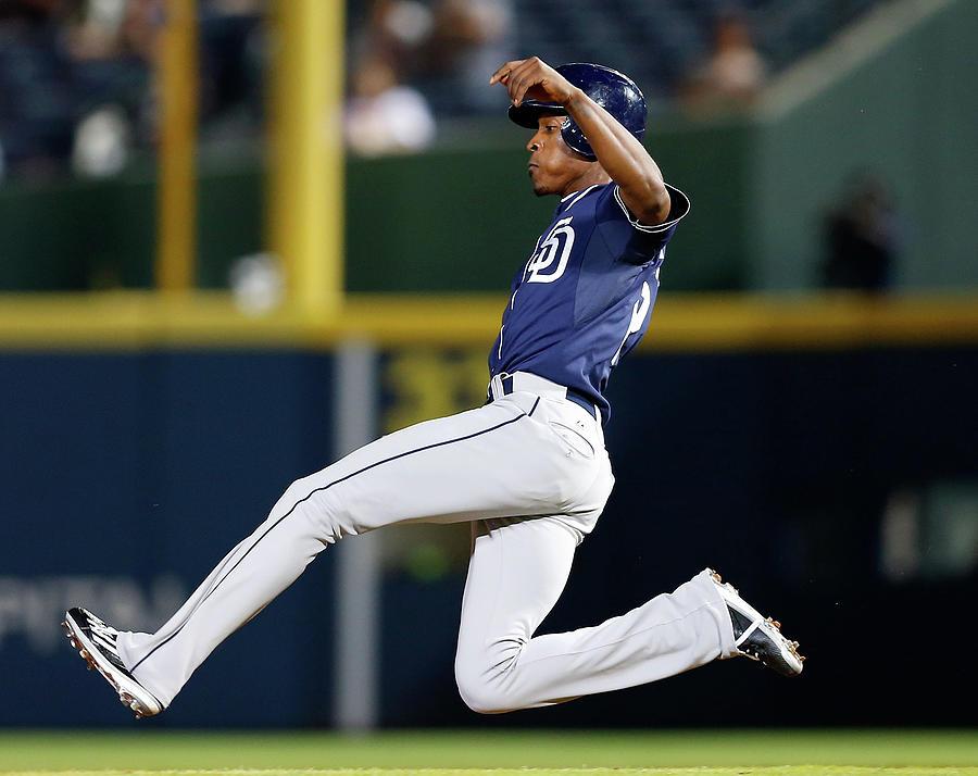 San Diego Padres V Atlanta Braves Photograph by Mike Zarrilli