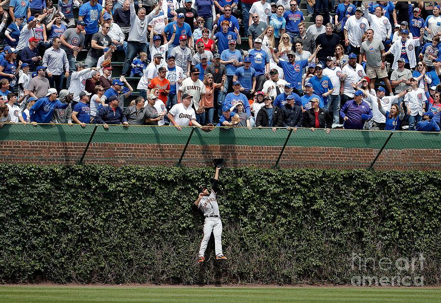 San Francisco Giants V Chicago Cubs Photograph by Jon Durr