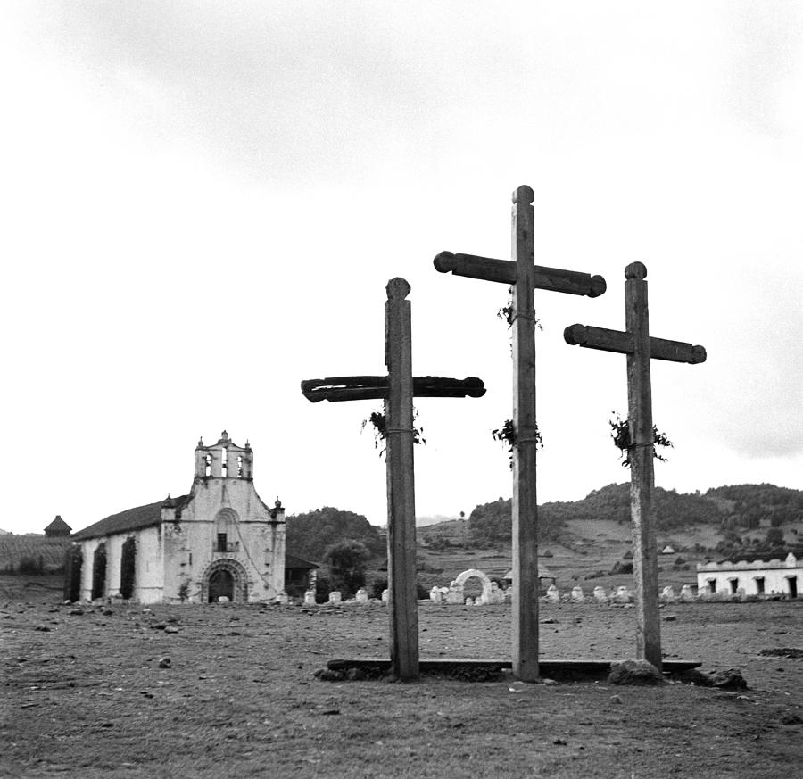 San Juan Chamula, Mexico Photograph by Michael Ochs Archives