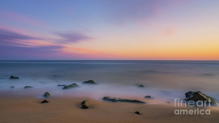 Sunrise Photograph - Sandy Hook Sunrise  by Michael Ver Sprill