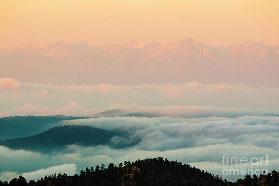 Sangre De Cristo Lake Of Fog Photograph