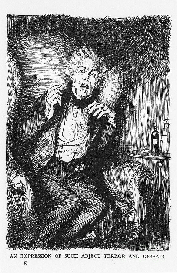 Scene From The Strange Case Of Dr Drawing by Print Collector