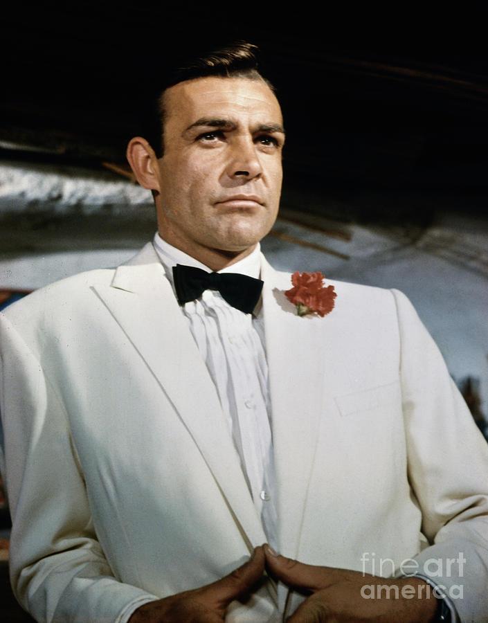 Sean Connery As James Bond By Bettmann
