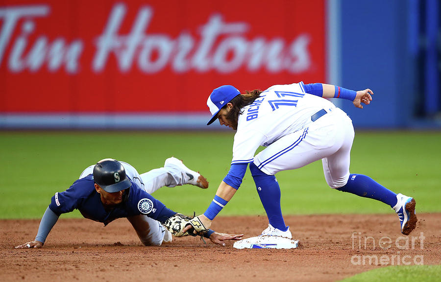 Seattle Mariners V Toronto Blue Jays 2 Photograph by Vaughn Ridley