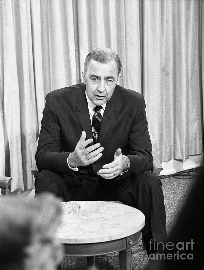 Senator Eugene Mccarthy Photograph by Bettmann