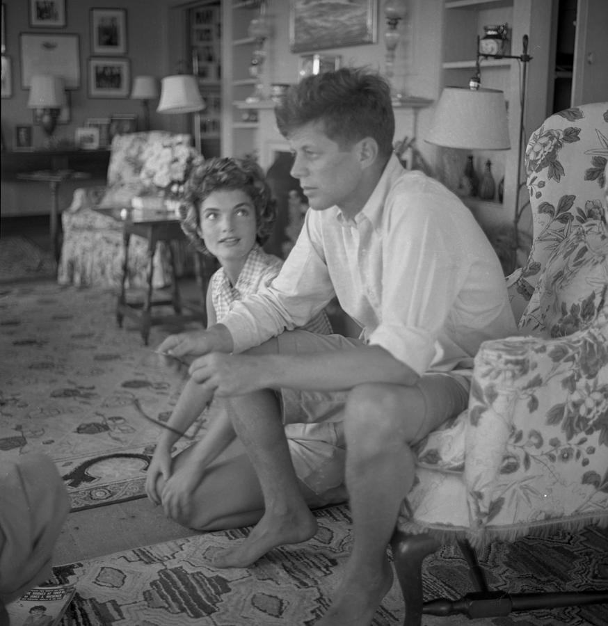 Senator Kennedy Goes A Courting Photograph by Hy Peskin Archive