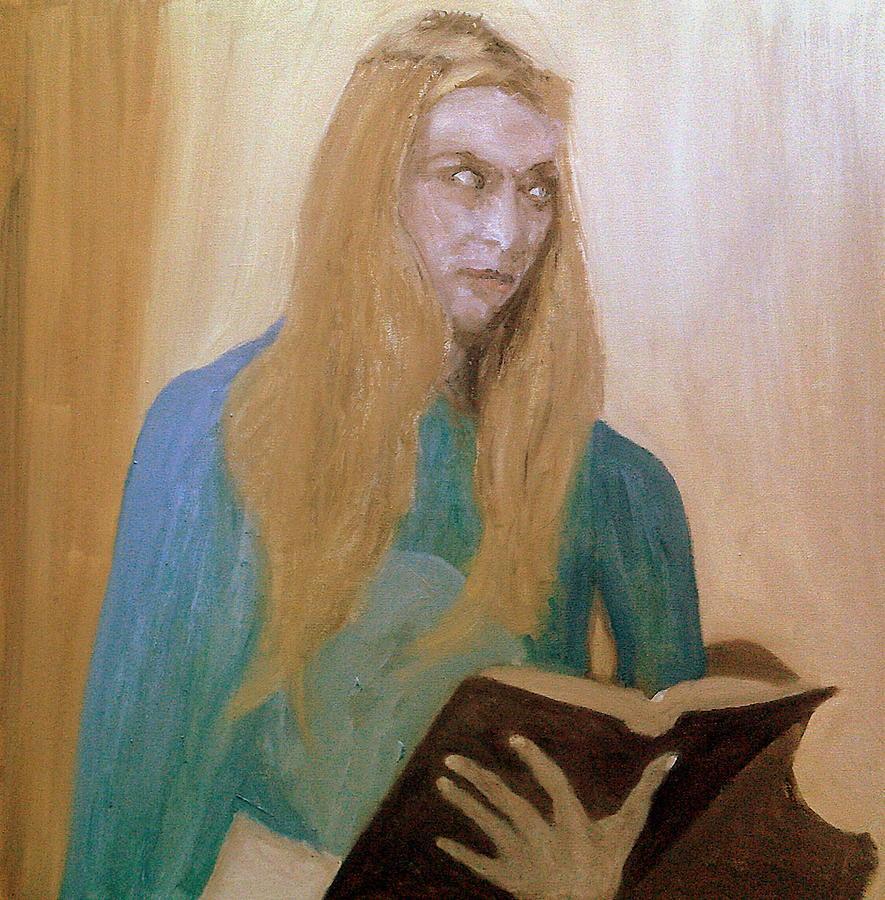 She Stares In Annoyance by Peter Gartner