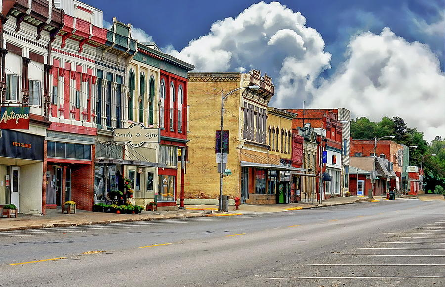 Small Town America Photograph By Anthony Dezenzio