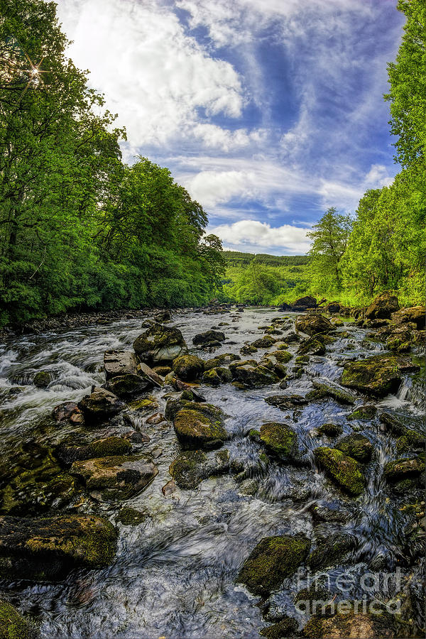 Snowdonia River by Ian Mitchell