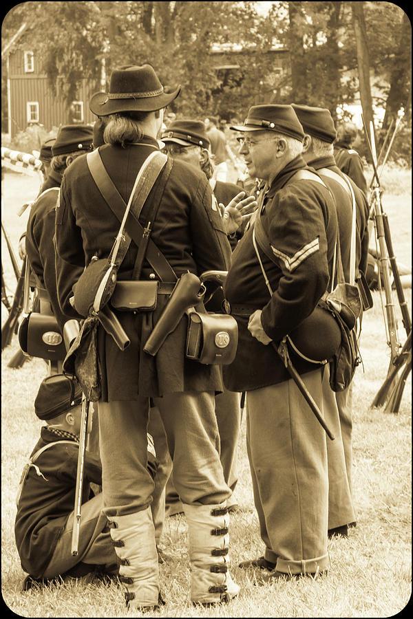 Soldiers by Stewart Helberg