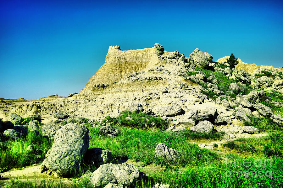 South Dakota Badlands Photograph