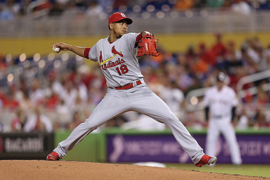 St Louis Cardinals V Miami Marlins Photograph by Rob Foldy