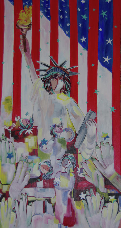 Statue of Liberty by Sima Amid Wewetzer