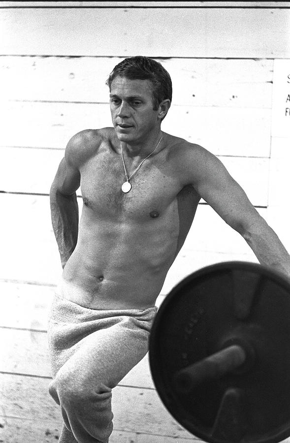 Steve Mcqueen Photograph by John Dominis