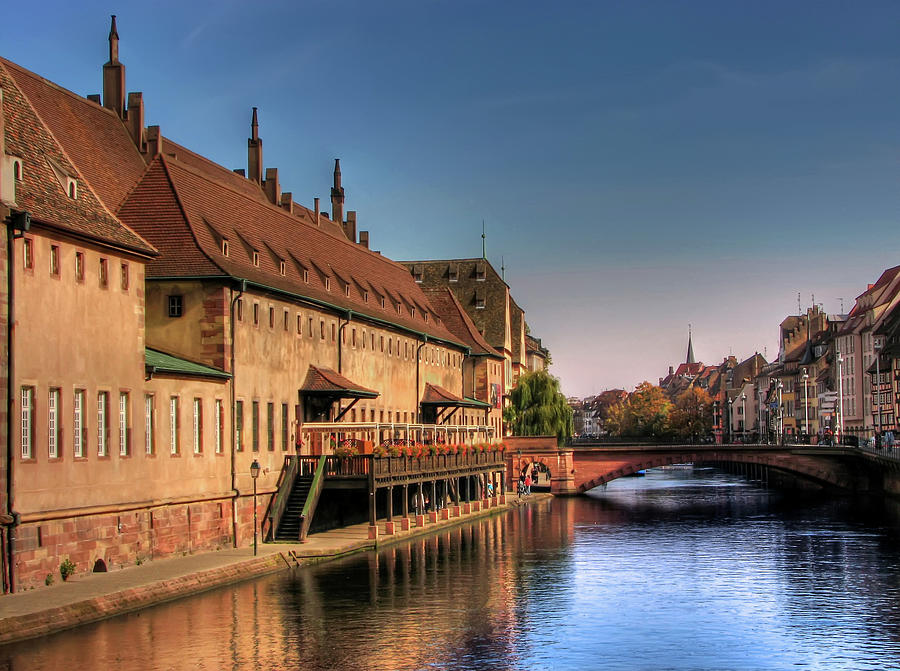 Strasbourg River Photograph by Michael Kitromilides