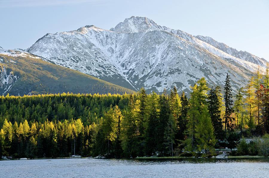 Strbske Pleso - Mountain Lake In Morning Photograph by Yorkfoto