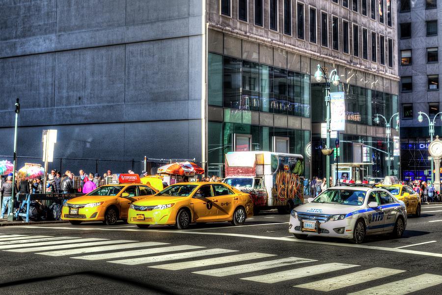 Street Scene New York by David Pyatt
