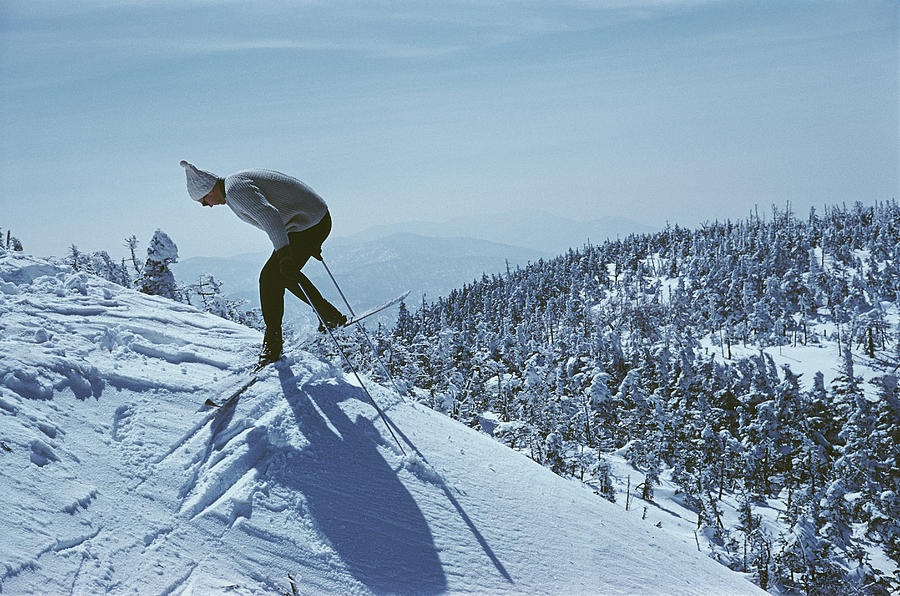 Sugarbush Skiing Photograph by Slim Aarons