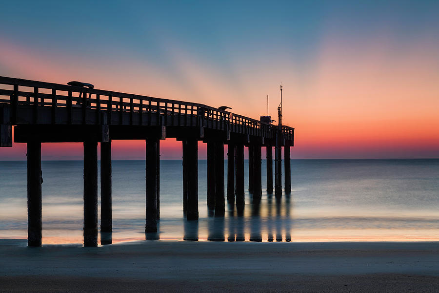 Sunrise at the Pier by Fran Gallogly