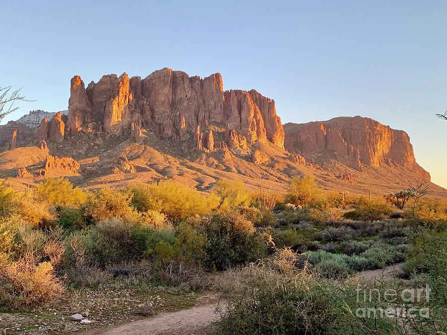 Superstition Mountains by Sean Griffin