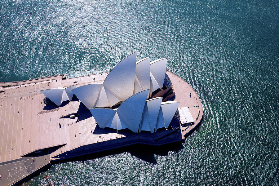 Sydney Aerial Photograph by Michael Dunning