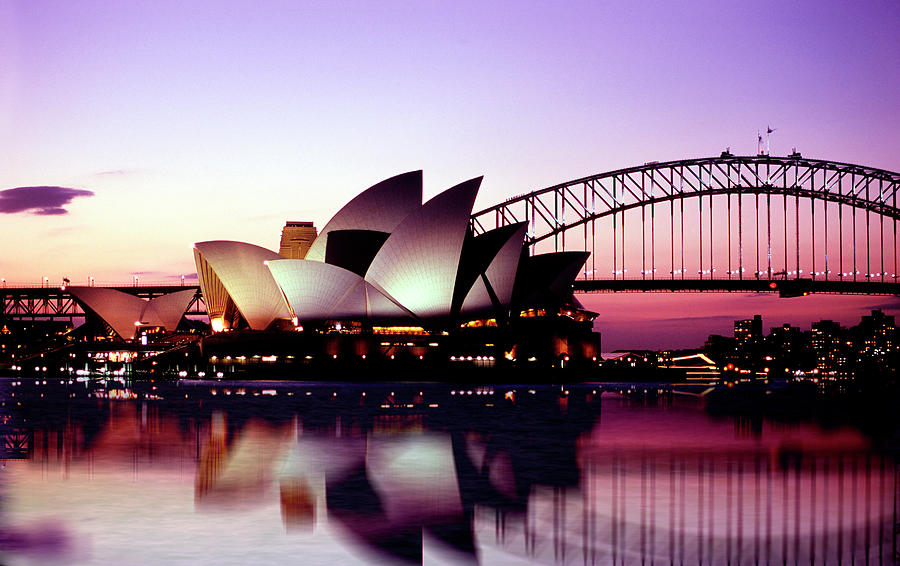 Sydney Opera House Photograph by Peter Phipp