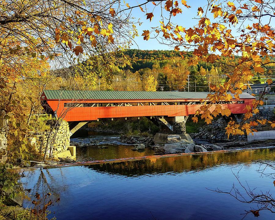 Taftsville Covered Bridge by Jeff Folger