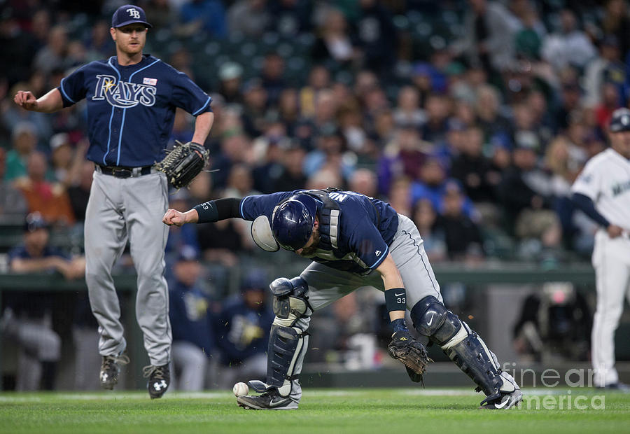 Tampa Bay Rays V Seattle Mariners Photograph by Stephen Brashear