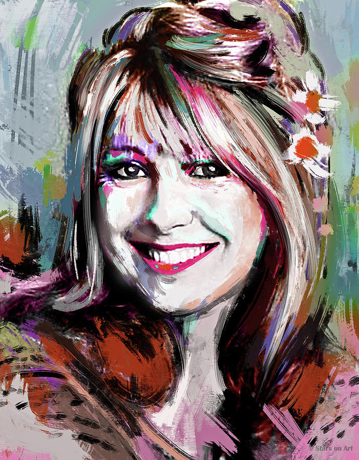 Teri Garr by Stars on Art