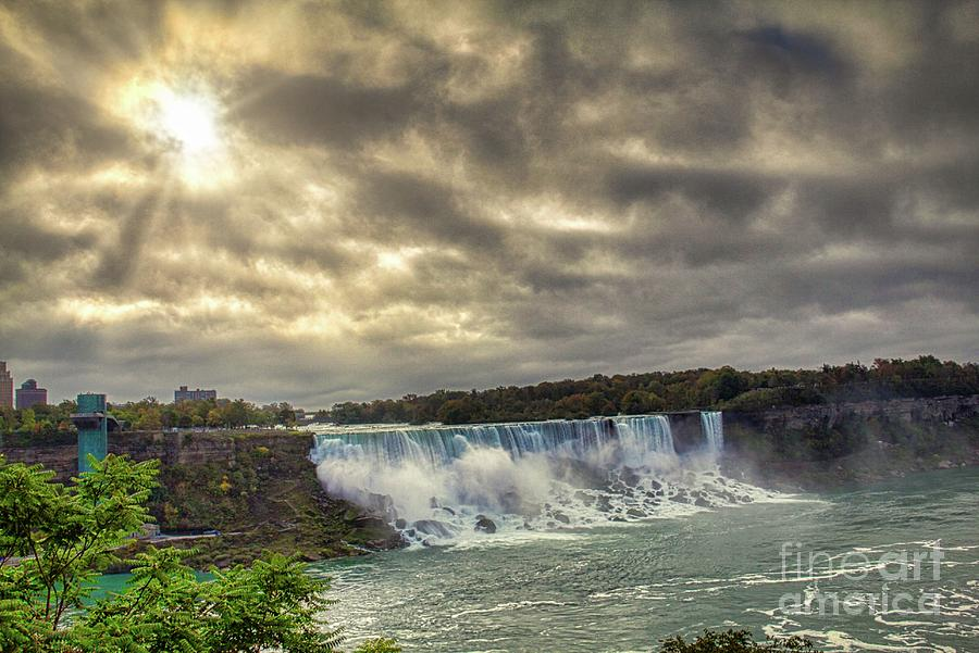 The American Falls by Jim Lepard