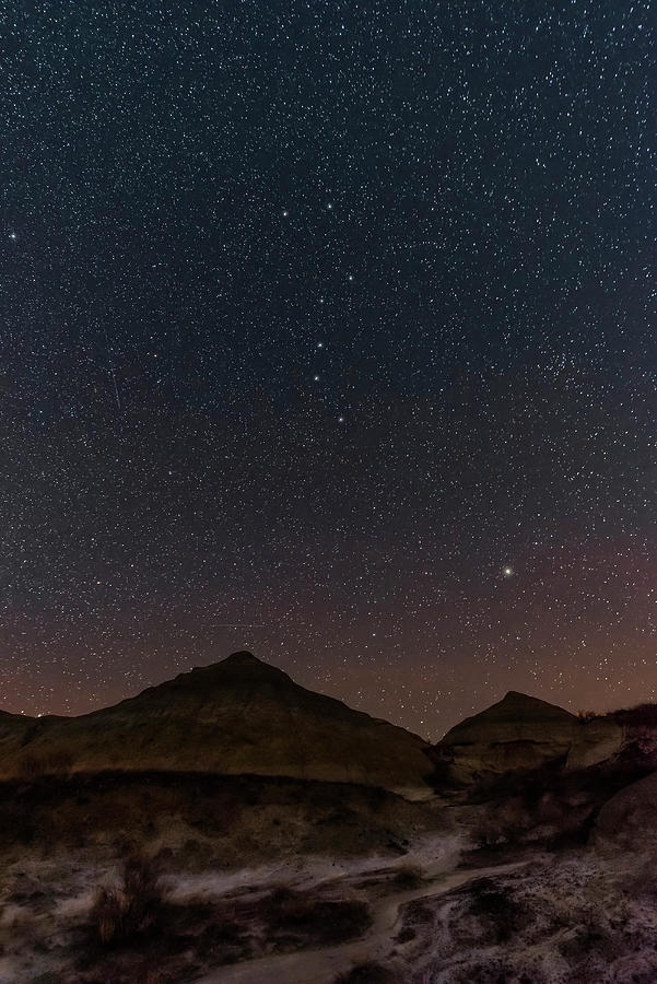 The Big Dipper And Arcturus by Alan Dyer