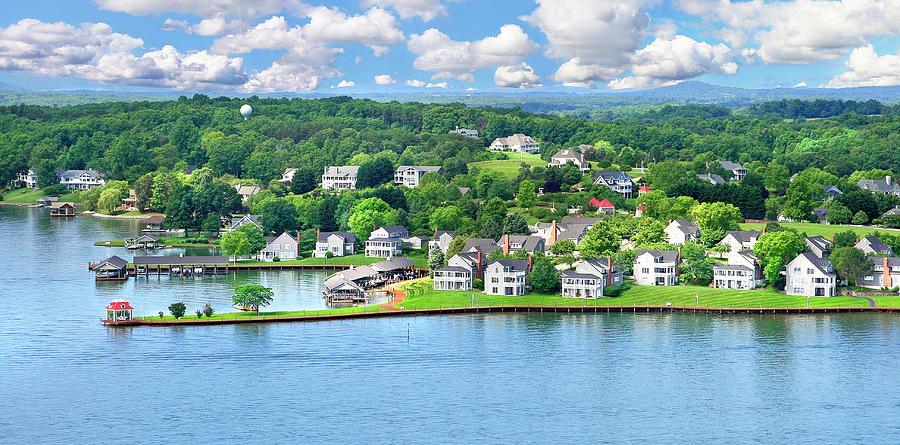 The Boardwalk, Smith Mountain Lake, Va by The American Shutterbug Society