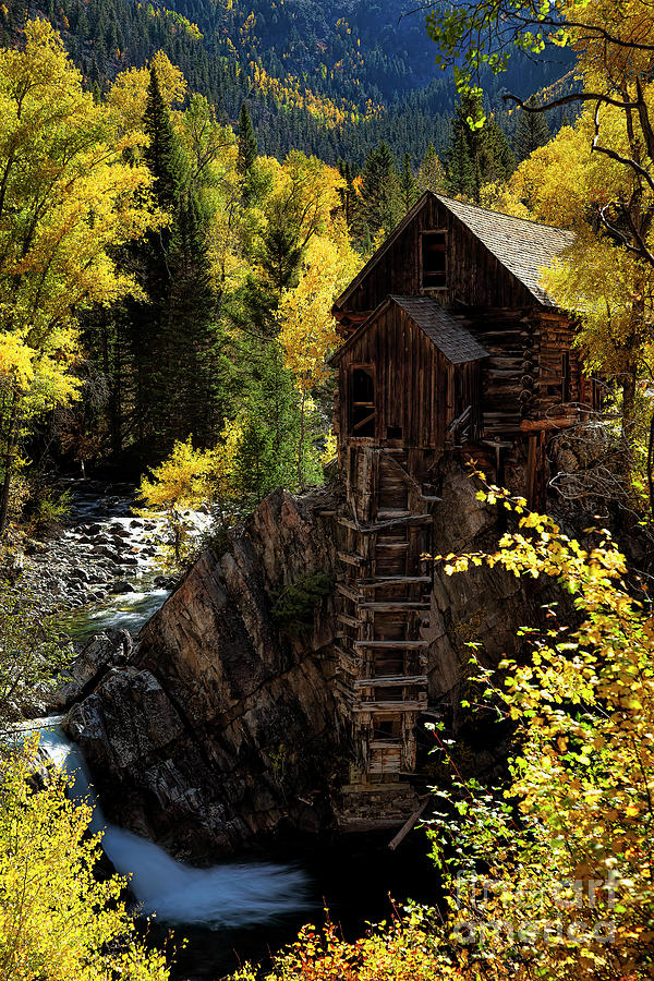 The Crystal Mill by Jim Garrison