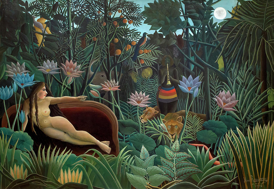 Henri Rousseau Painting - The Dream, 1910 by Henri Julien Felix Rousseau