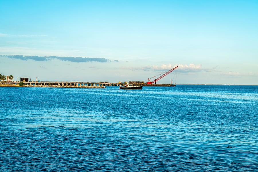 Water Photograph - The Harbor by Ric Schafer