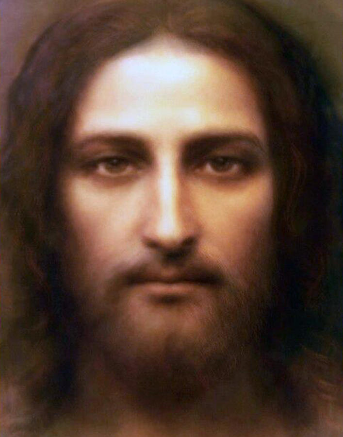 The Holy Face of Jesus. Photograph by Samuel Epperly