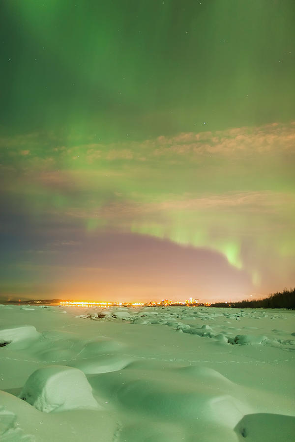 The Northern Lights Shine Above The Photograph by Kevin Smith / Design Pics