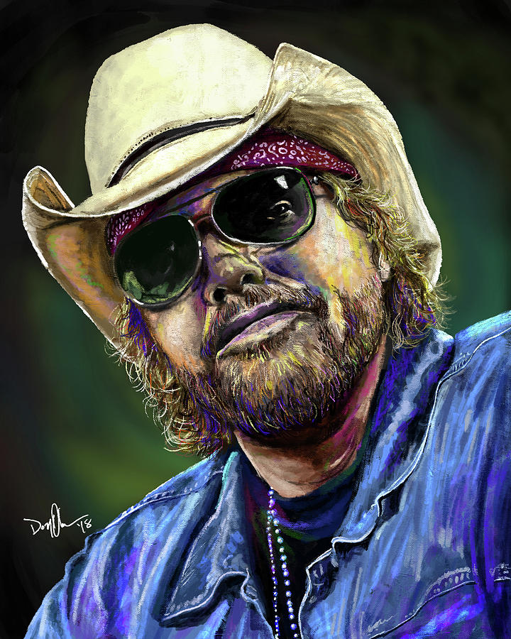 Toby Keith by Don Olea