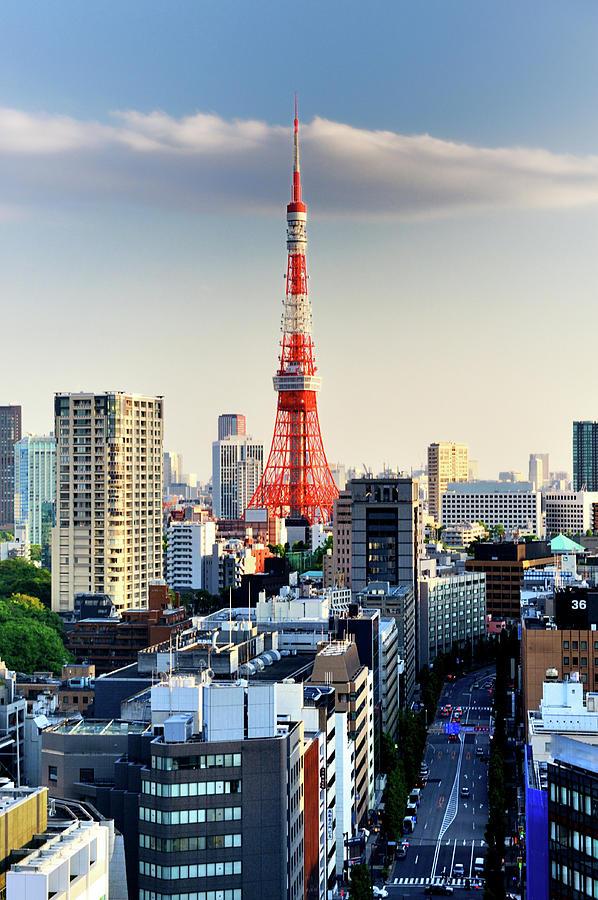 Tokyo Tower Photograph by Vladimir Zakharov