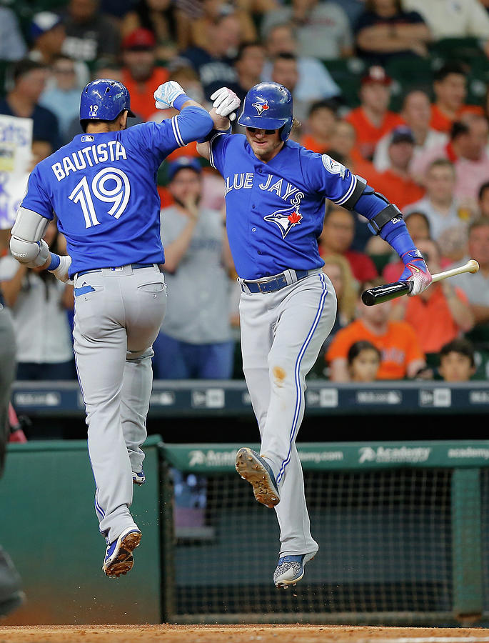 Toronto Blue Jays V Houston Astros Photograph by Bob Levey