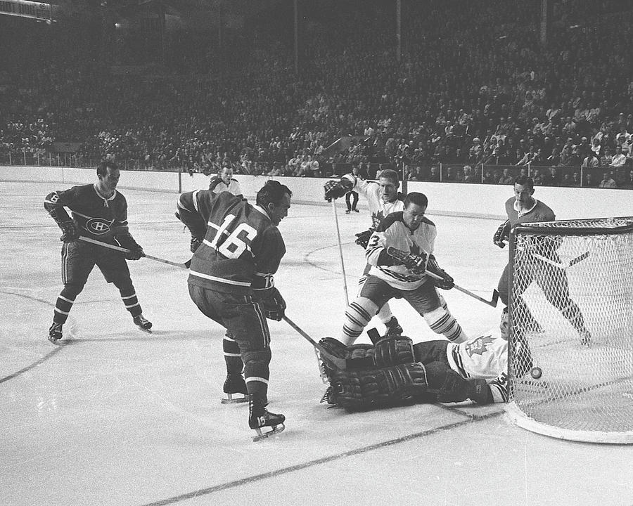 Toronto Maple Leafs V Montreal Canadiens Photograph by Denis Brodeur