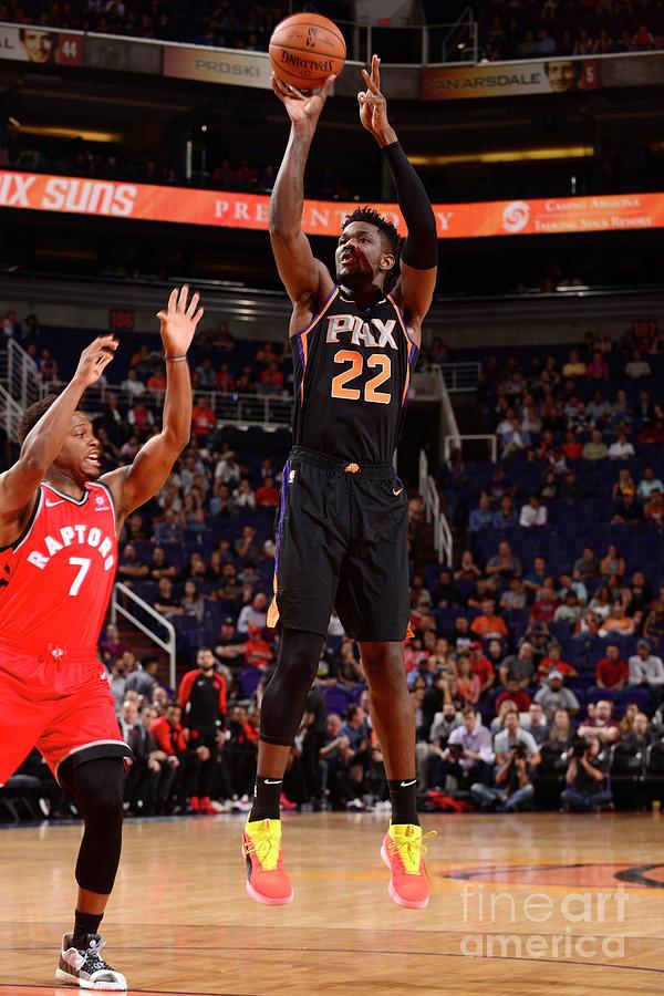 Toronto Raptors V Phoenix Suns Photograph by Barry Gossage