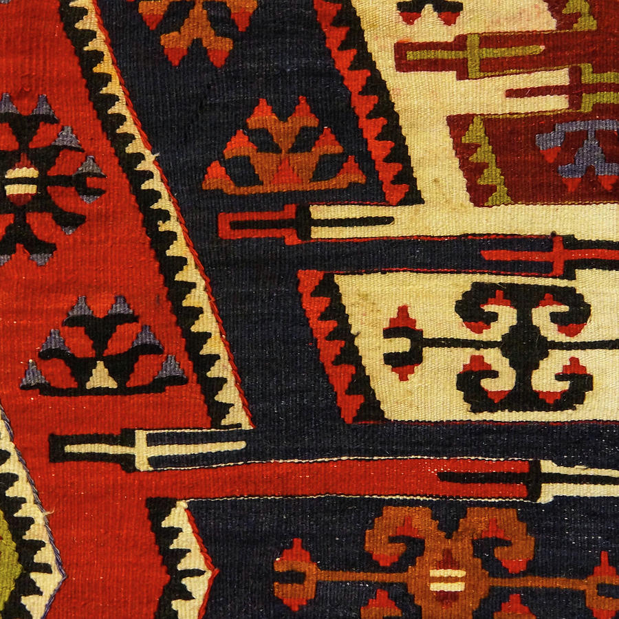 Traditional Anatolian pattern by Steve Estvanik