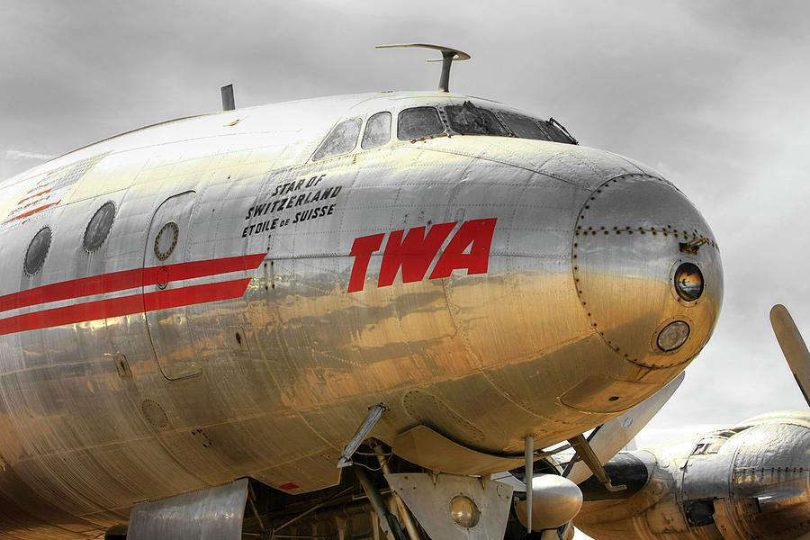 TWA Lockheed L1049 Constellation by Chris Smith