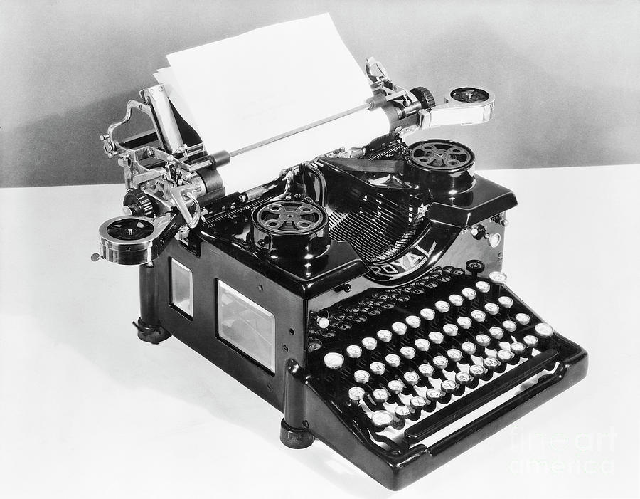 Typewriter Photograph by Bettmann