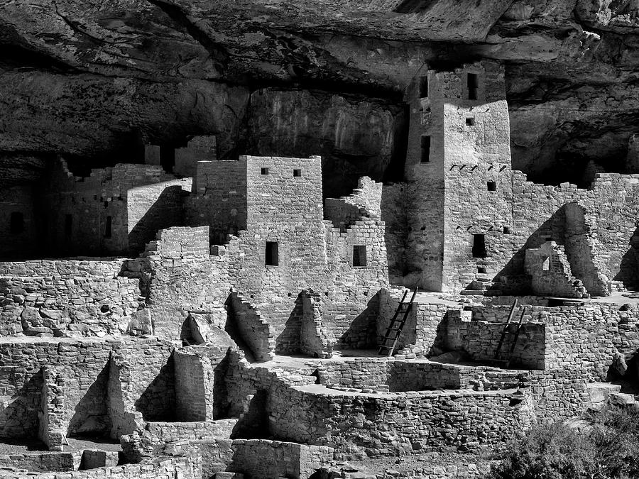 Afternoon Photograph - Usa, Colorado, Mesa Verde National Park by Ann Collins