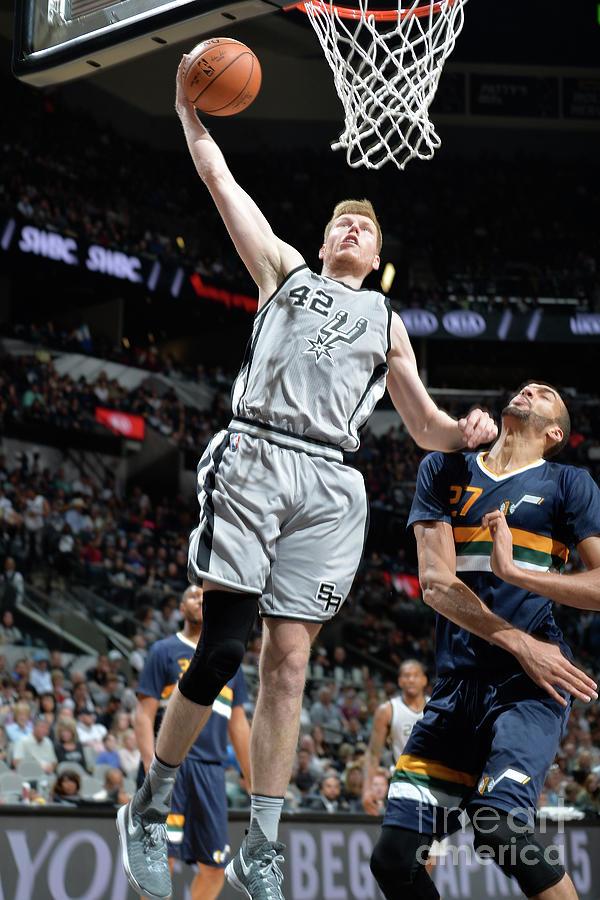 Utah Jazz V San Antonio Spurs Photograph by Mark Sobhani